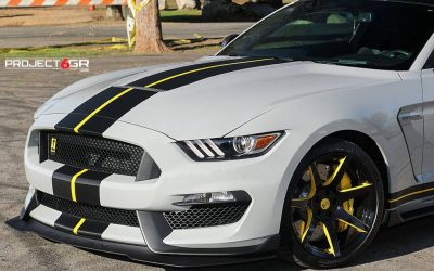 best black mustang rims