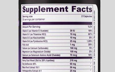 a Maca Root Supplement