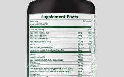 The Many Benefits of Vitamin B1 Supplements
