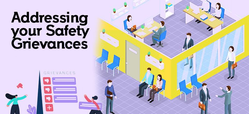 addressing your safety grievances